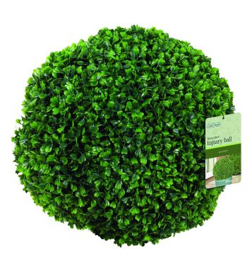 15cm Artificial Topiary Boxwood Ball by Gardman