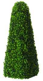 60cm Artificial Topiary Tree by Primrose™ - 'The Buxus Obelisk'