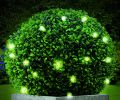 30cm Artificial Topiary Ball with Lights by Gardman