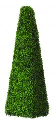 Artificial Topiary Boxwood Obelisk - 1m