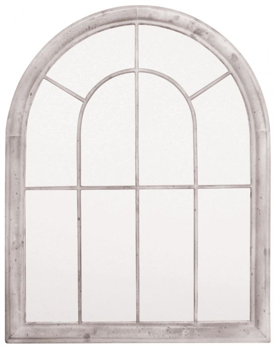 2ft 10in x 2ft 3in Curved Arch Garden Glass Mirror