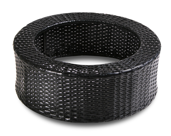 H22cm X D60cm Decorative Rattan Reservoir Surround | Indoor/Outdoor Use