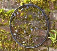 'Circle of Harmony' Metal Round Wall Art 40.6cm