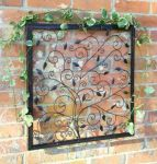 'Tree of Life' Metal Square Wall Art 60cm