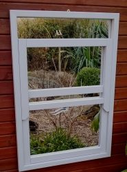 3ft 2in x 2ft 2in Illusion Sash Window Mirror