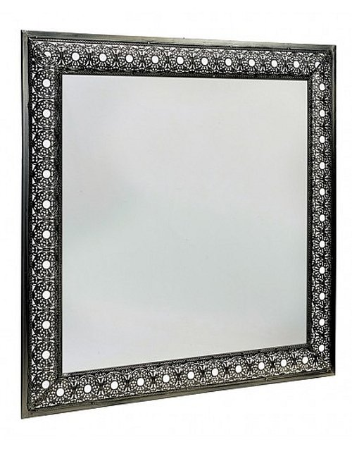 2ft 3in x 2ft 3in Arabian Square Glass Garden Mirror