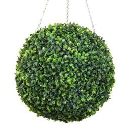 38cm Artificial Topiary Boxwood Ball by Primrose™