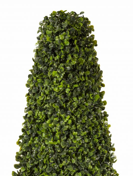 60cm Pair of Artificial Topiary Boxwood Obelisks by Gardman™