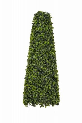60cm Artificial Topiary Boxwood Obelisk by Gardman™