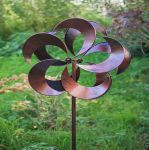 Tatton Burnished Gold Wind Spinner