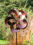 Tatton Burnished Gold Wind Spinner 1.83m