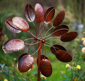 Wisley Burnished Gold Wind Spinner Dia 62cm