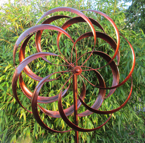 Grantchester Burnished Gold Wind Spinner Dia 61cm