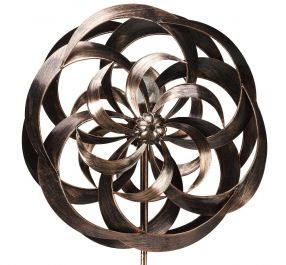 Smart Garden Taurus InSpinners Wind Spinner with Solar Crackle Ball Dia 58cm