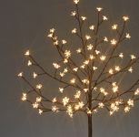 1.2M Warm White Outdoor Cherry Blossom Tree with 100 LEDs