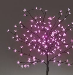1.5M Pink Outdoor Cherry Tree with 150 LEDs