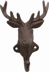 Deer Cast Iron Coat Hook