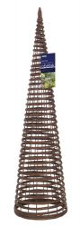 1.5m Willow Twist Obelisk - by Gardman
