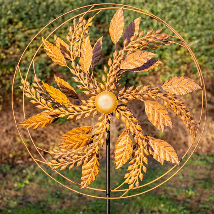 Winslow Steel Wind Spinner 64cm  by Primrose™