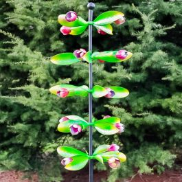 Albion Column Tulip Wind Spinner 82cm only at Primrose™