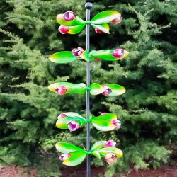 Albion Column Tulip Wind Spinner 82cm  by Primrose™