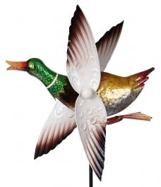 Duck Whirligig Wind Spinner 1.4m