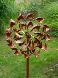 Double Swirl Wind Spinner Dia 46cm