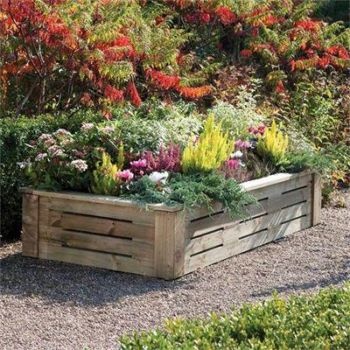 1.84m 622L Softwood Raised Bed Planter FSC® by Rowlinson®