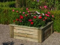 3x3 Raised Bed Planter - 318 Litres