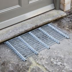 Large Galvansied Steel Door Mat