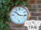 "Copper garden / outdoor clock - 37cm (14.6"") - by About Time�"