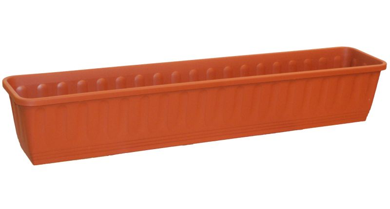 "Etruscan Ornamental Trough Planter in Terracotta - Set of 2 - W100cm (39"")"