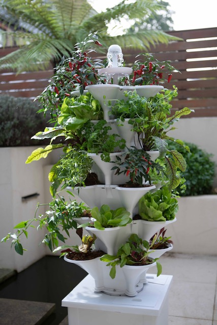 150cm 6 Tier Self-Watering Vertical Growing System By Acqua Garden