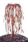 Weeping Willow Copper Tree Cascade Water Feature - 82 cm - by Ambienté