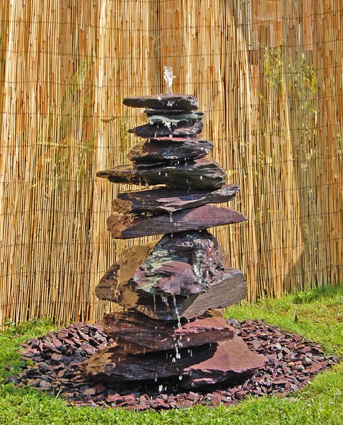 Highland Slate Water Feature