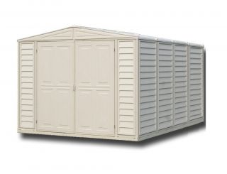 8ft x 10ft Duramax Duramate Plastic Shed