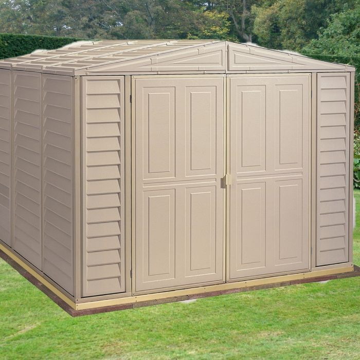8ft x 8ft Duramax Duramate Plastic Shed