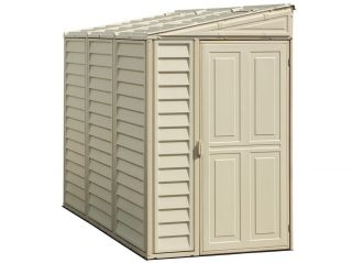 4ft x 8ft Duramax Sidemate Plastic Shed