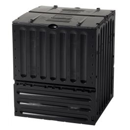 600 Litre Eco-King Composter in Black