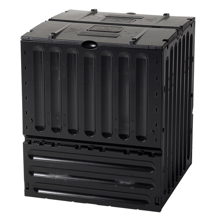 400 Litre Eco-King Composter in Black