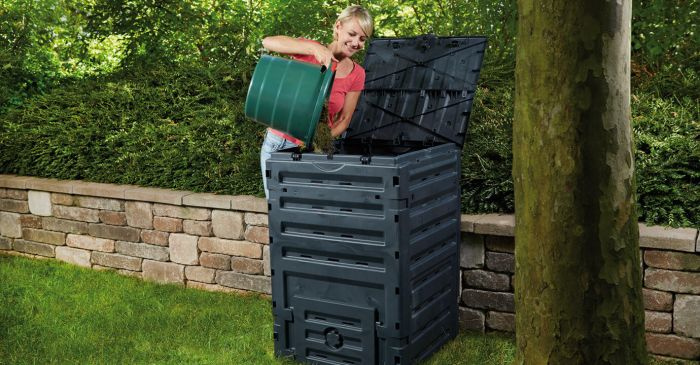 450 Litre Eco Master Composter in Black