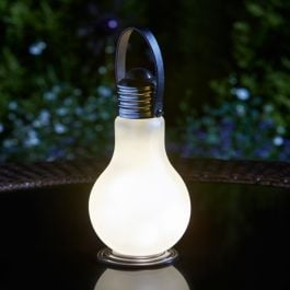 19cm Smart Garden Eureka! Beta PLUS Battery Lightbulb - Frosted - 4 Pack