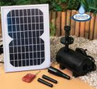 Remote Controlled Solar Water Pump Kit with LED lights - 800LPH