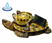 Floating Terrapins Solar Water Feature