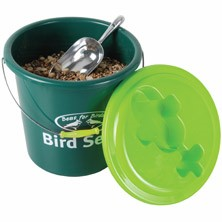 Bird Seed Bucket With Scoop