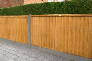 6ft x 3ft Closeboard Fence Panel Pack of 3