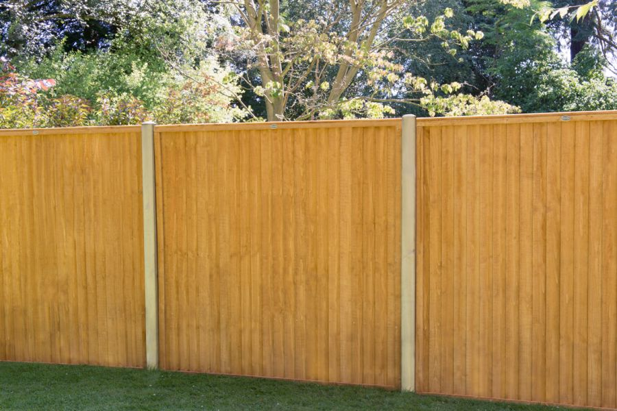6ft x 6ft Closeboard Fence Panel Pack of 3