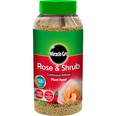 1KG Rose & Shrub Slow Release Plant Food By Miracle-Gro