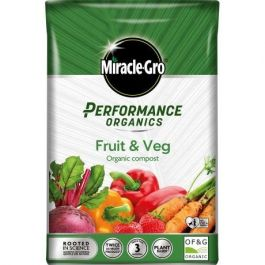 40L Miracle-Gro® Performance Organics Fruit & Veg Compost