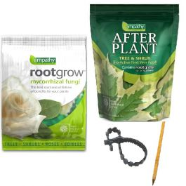Full Tree Planting Kit | Tree Stake, Tie, Empathy Rootgrow™ & Empathy Afterplant™